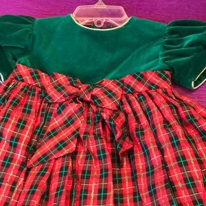 Toddlers holiday dress